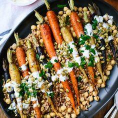 Roasted Carrots with Farro | foodgawker | Bloglovin'