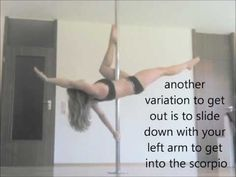Pole Dance Tutorial: Flatline Scorpio