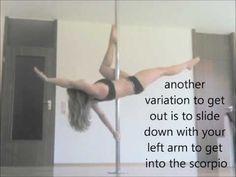Pole Dance Tutorial: Flatline Scorpio