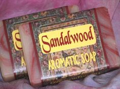 SANDALWOOD MUSK Soap exotic scent for men by goodearthessentials, $3.50