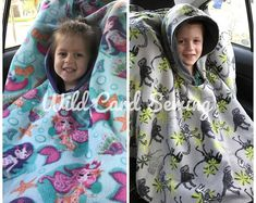 sewing projects for baby DIY Carseat Poncho - DIY Danielle - These car seat ponchos are easy to make and keep children warm in car seats without sacrificing safety. Learn to sew a car seat coat with this free pattern! Baby Sewing Projects, Sewing Projects For Beginners, Sewing For Kids, Sewing Hacks, Sewing Tutorials, Diy For Kids, Sewing Tips, Fleece Projects, Sewing Patterns Free