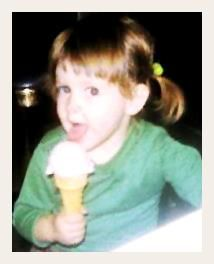 Me, about age enjoying peppermint-stick ice-cream made by my father. Fine Arts College, Writing Process, See You, Book Crafts, My Father, Book Review, Peppermint, Writer, Interview