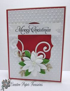 Splitcoaststampers FOOGallery - White Christmas Poinsettia