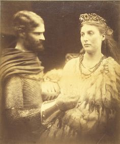 Lancelot and Guinevere, c. 1873 - Julia Margaret Cameron (1815-1879)