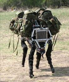 LATEST: The role of dogs, dolphins and donkeys in war fare are being replaced by robots with built in animal qualities