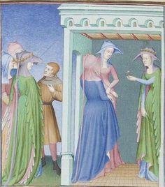 Publius Terencius Afer, Comoediae [comédies de Térence] ca. 1411;  Bibliothèque de l'Arsenal, Ms-664 réserve, 235v