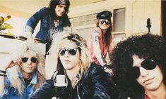 """Attitude"", el tributo a Guns N' Roses mas grande de Latinoamerica, debutara en Pat..."