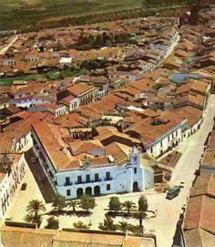 Plaza de las Mercedes vista desde ariba.