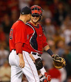 Jarrod Saltalamacchia - Toronto Blue Jays v Boston Red Sox. Awesome game!!!!