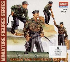 German Tank Supplies and Tank Crew Set Academy Military Weapons, Military Art, Axis Powers, Portraits, Box Art, Ww2, World War, German, Bing Images