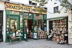 Shakespeare & Co. Shakespeare & Co Books; Paris Originally opened in this bookstore was a popular haunt of famous writers such as Ernest Hemingway and Ezra Pound. A fun place to stop while sightseeing in the Left Bank. Shakespeare And Company Paris, The Places Youll Go, Places To Go, Midnight In Paris, Book Aesthetic, Book Nooks, Library Books, Paris Travel, France Travel