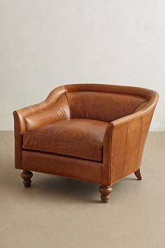 Leather Holloway Armchair - anthropologie.com #anthrofave