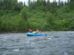 Rafting on Lake Creek Light Novel, Rafting, Outdoor Furniture, Outdoor Decor, Hammock, Northern Lights, Novels, Boat, Inspiration