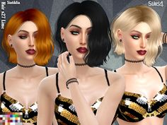 42 colors  Found in TSR Category 'Sims 4 Female Hairstyles'
