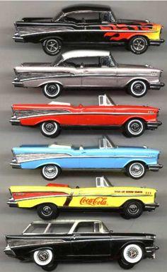 1957 Die-Cast Car Collection