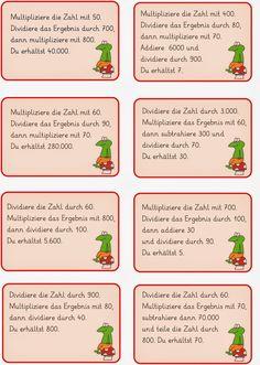 Lernstübchen: Kettenaufgaben im ZR 1 Million