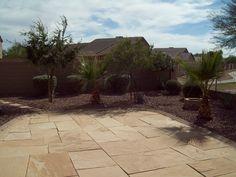 Flagstone patio overlooking golf course Flagstone Patio, Golf Courses, Sidewalk, Places, Outdoor Decor, Side Walkway, Walkway, Walkways, Lugares