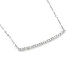 """Sterling Silver and CZ Wishbone Necklace Your choice....$30!! *16"""" + 2"""" extender total length. *also available in Rose Gold and Yellow Gold plated. www.facebook.com/groups/jewelrybycara"""