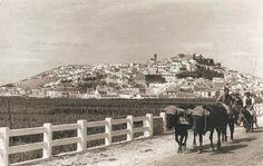 Postales Antiguas de Andalucía: Vista de Salobreña (Granada)