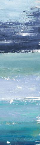 Blue Palette Panel II Affiches par Patricia Pinto sur AllPosters.fr