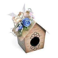 Bird House Box by Debi Adams - Scrapbook.com