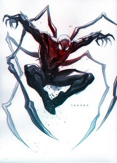 commission - Superior Spider-Man, colors by marciotakara.deviantart.com on @DeviantArt
