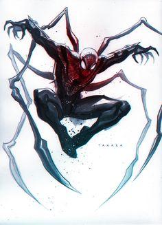 commission - Superior Spider-Man, colors by marciotakara.deviantart.com on @DeviantArt