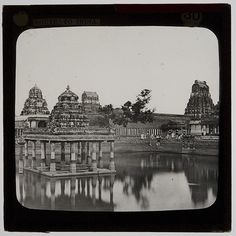 Kanchipuram Temple, India from 50 Photographs that will transport you to Pre-Independent India - 121Clicks.com