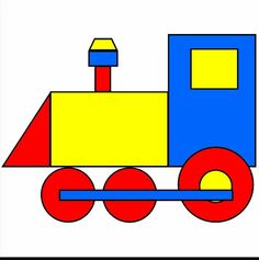 Train with shapes