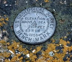 Land survey markers are objects placed to denote major survey points on the earth's surface. How often do you walk by these daily and never notice?