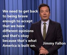 Jimmy Fallon Addresses Orlando Nightclub Shooting. Keep loving each other, keep respecting each other and keep on dancing.