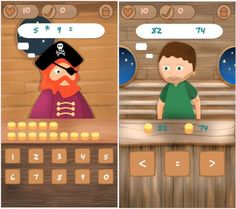 Pirate Math for kids