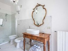 Superb 2 Bed Apartment in Tuscany Italy, Arezzo, Tuscany, Tuscany - photos of apartment for international_sale Single Vanity, Apartments For Sale, Storage Spaces, Exposed Wood, Country Style Kitchen, Small Storage, Wood Beams, Kitchen Styling, Small Space Storage