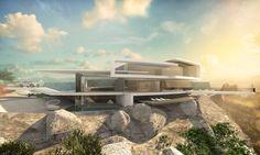 Runde Häuser Bauen In Moderner Architektur