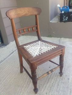 Antique Early 1900S Stinkwood Riempie Chair     Antique Furniture   68198750   Junk Mail Classifieds Adult Bunk Beds, Cool Bunk Beds, Kid Beds, Clifton Houses, Antique Furniture, Furniture Sets, One Bed, Headboards For Beds, Small Space Living