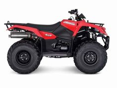New 2017 Suzuki KINGQUAD 400FSI ATVs For Sale in Texas. In 1983, Suzuki introduced the world's first 4-wheel ATV. Today, Suzuki ATVs are everywhere. From the most remote areas to the most everyday tasks, you'll find the KingQuad powering a rider onward. Across the board, our KingQuad lineup is a dominating group of ATVs.Whether you're working hard or getting away from it all, the 2017 Suzuki KingQuad 400ASi helps you every step of the way. The fully automatic Quadmatic transmission has two…