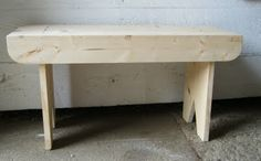 How to make a simple bench from scrap wood