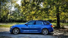 BMW F31 328xi Touring | Rare M Sport Wagon in Estoril Blue | Fully Loaded w/ HUD