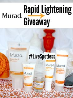 https://wn.nr/nUCgsc  - Three lucky winners will receive the Murad 90-Day Rapid Lightening Regimen ($119.85 value) It's a great way to experience the products together as a team because they are designed to work best together. See the real results from 90-Day Rapid Lightening Regimen and read real reviews.
