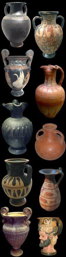Etruscan pottery, 5th-4th century, BCE | Etruschi | Pinterest