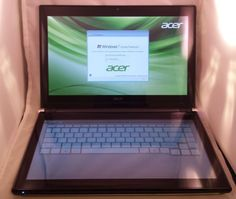 "Acer ICONIA 6120 14"" (2.66GHz) Notebook Dual Screen Tablet"