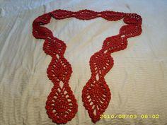 pineapple scarf #crochet