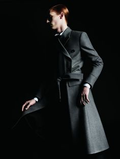 Dior Homme Winter 07 campaign, photographer Hedi Slimane, March 2006. I cannot find a stylist credit.