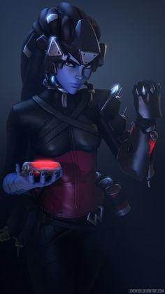 Widowmaker Noire - Overwatch by lemon100 on DeviantArt