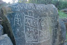 Petroglifo en cajón del valle de Chalinga Graphic Patterns, Prehistoric, Rock Art, Archaeology, 3 D, Cool Stuff, Aliens, Painting, Goal
