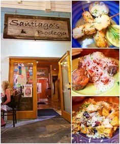 Santiago Bodega, Key West, FL - amazing tapas restaurant in Old Town Key West. Amazing tapas! A must visit when in Key West!