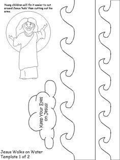 FIAR Storm in the night Jesus Calms Storm printable, cutting practice Sunday School Activities, Church Activities, Bible Activities, Sunday School Lessons, Sunday School Crafts, School Resources, Preschool Bible, Preschool Crafts, Kids Crafts