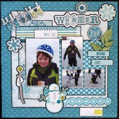 Winter Page by Michelle Gallant (little yellow bicycle)