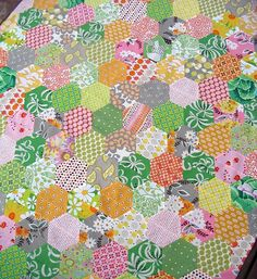 easier hexagon quilt