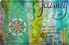 """visual blessings: More Faith Journaling """"Trust God with all your heart and don't try to figure everything out on your own. Listen to God's voice in everything you do, everywhere you go. He is the one who will keep you on the right path."""" - from Proverbs 3:5-6"""